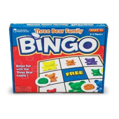 Bingo Three Bear Family