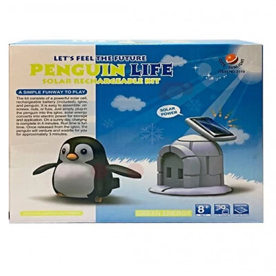 Kit Solar Recargable Pinguino